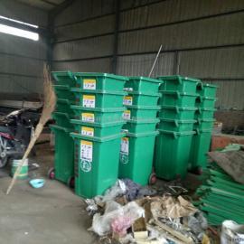 镀锌钢板垃圾桶