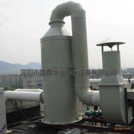 pp喷淋塔废气净化塔 废气处理成套设备工业酸雾塔脱硫塔除雾塔