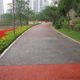 陕西海绵城市透水地坪/安康彩色耐磨防滑路面/西安渗水混凝土