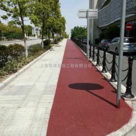 新型铺装材料来自于上海真石丽地坪厂家@自产自销%品质保证
