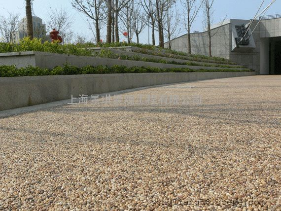 强固型环保透水混凝土|提供施工技术指导|材料一律出厂价