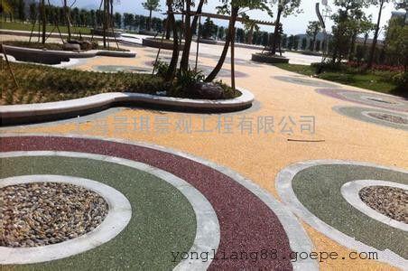 上海透水地坪◎环保耐用&无积水路面*透水混凝土