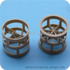冷轧厂硅钢厂专用PPH鲍尔环化工填料拉西环PPH圆型填料
