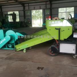 专业生产全自动青贮饲料打捆机牧草青贮裹包机厂家
