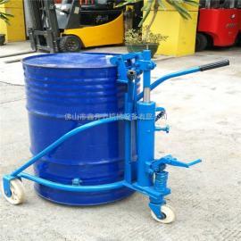 浙江地区加油站专用油桶搬运车油桶运输车