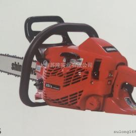 日本新大华315S 油锯二冲程汽油链锯 新大华14寸伐木锯
