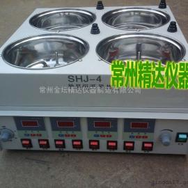SHJ-4D数显恒温水浴磁力搅拌器