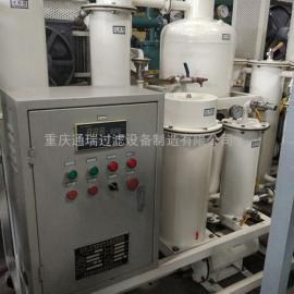 重庆金锩实业有限公司ZJD液压油滤油机调试现场
