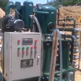 ZJA-30绝缘油双级真空滤油机使用现场