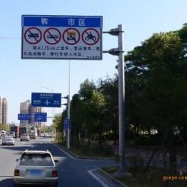 深圳交通标志牌道路指示牌厂家常规配置大全