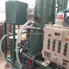 环保公司防爆型真空滤油机安装使用现场