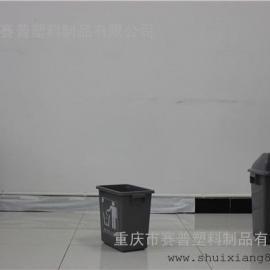 璧山12L室内小型塑料卫生桶