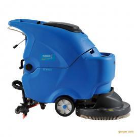 油污地面用洗地机|容恩手推式洗地机R56BT