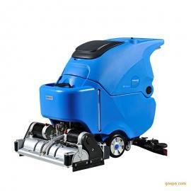 油污地面洗地机价格|容恩手推式洗地机R65RBT