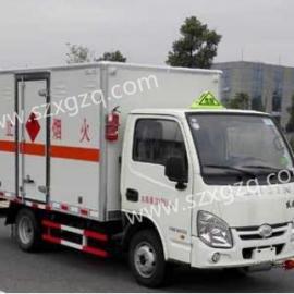 八类危险品运输车-八类腐蚀性物品运输车-腐蚀性物品厢式运输车