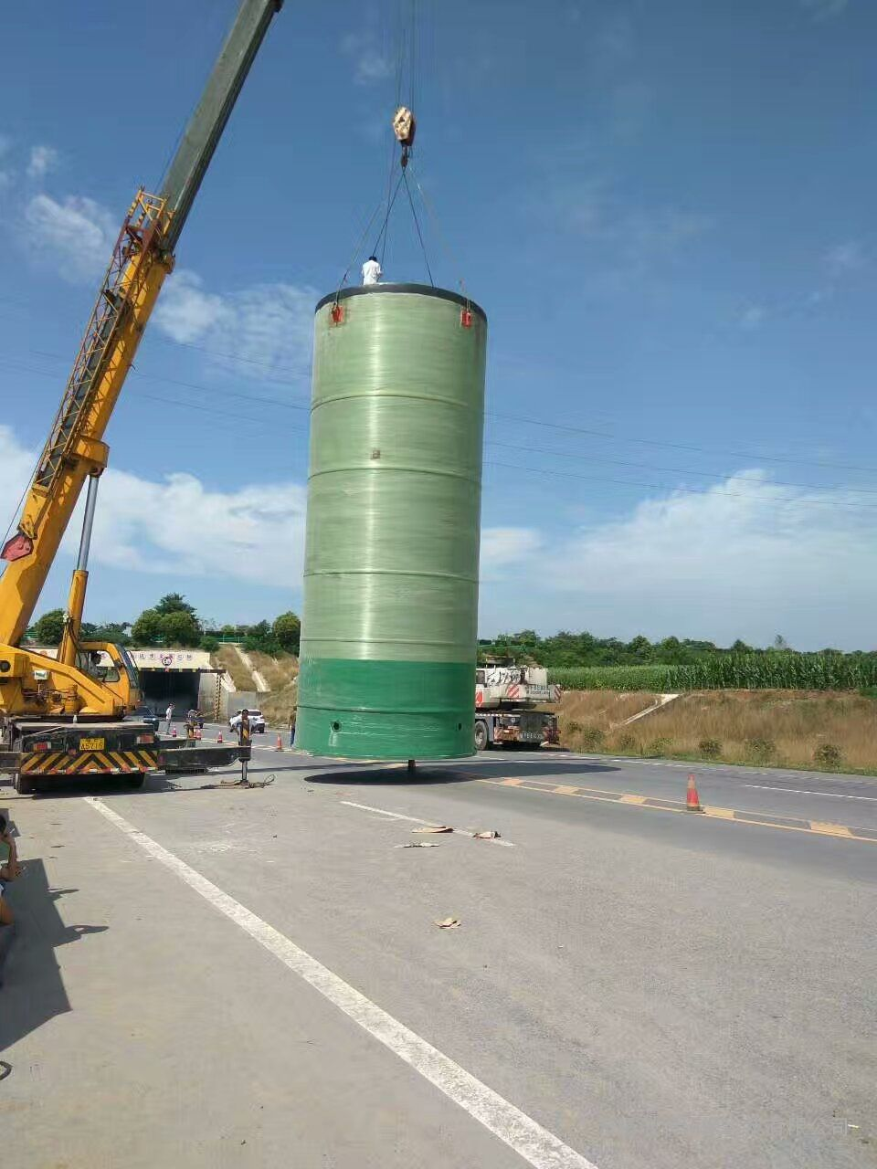 国内特大型一体化预制泵站