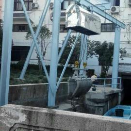 湖南清污机价格,崇鹏设计HO回转式格栅清污机图纸,
