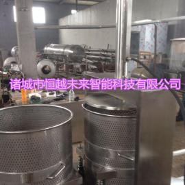 恒越未来HYWL-400L金针菇压榨机海带丝压榨脱水机