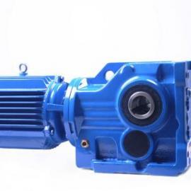 KAT87带防转臂空心轴安装螺旋锥齿轮减速机 硬齿面减速机