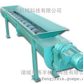 无轴螺旋输送机的特点/诸城善丰机械螺旋输送机供应