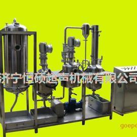 HSCT-G300L地积白口铁低声波提取罐/口服液草药提取稀释设备