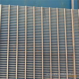 优质耐磨洗煤专用不锈钢条缝筛网 震动筛网