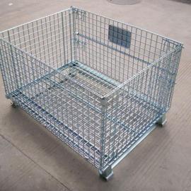 超市专用仓库笼仓储笼折叠式仓储笼周转笼
