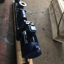 不锈钢材质螺杆泵、变频调速螺杆泵、带减速器螺杆泵