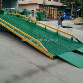 肇庆市瓷砖厂专用上货平台移动式登车桥