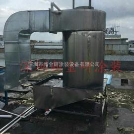 喷漆室废气处理设备 喷漆房 水帘柜设备处理