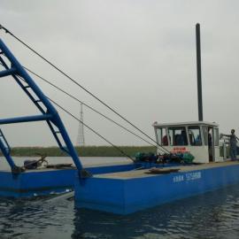 湖北襄阳300立方二手绞吸式抽沙船现货出售