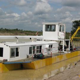 云南红河10寸泵以上绞吸式抽沙船可以抽石子
