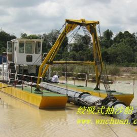 广西河道抽硬沙选择绞吸式抽沙船产量高