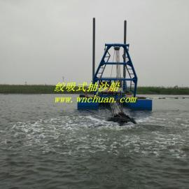�S河河道200方抽沙船在�I州使用效率高