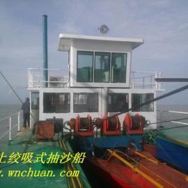 广东湛江山东船就是开底抽沙船