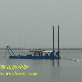 广东惠州东江绞吸式抽沙船10寸泵现货出售