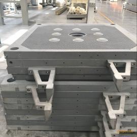 压滤机滤板 防渗漏滤板 厢式压滤机滤板增强聚丙烯滤板