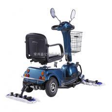 大商场超市用驾驶式三轮尘推车