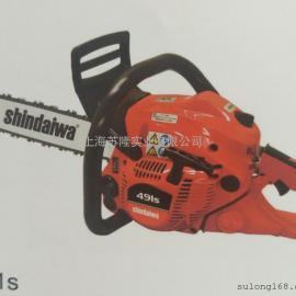 日本新大华油锯491S 新大华18寸油锯 汽油链锯 伐木锯