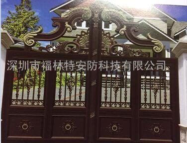 深圳聚福豪门金属铜门送货上门包安装服务周到