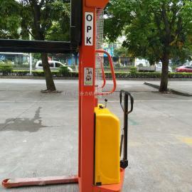 载重1/1.5/2吨电动堆高车液压升高车装卸车叉车堆垛车