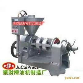 供应甘肃优质螺旋棉籽压油机销售价格,聚财榨油机免费安装
