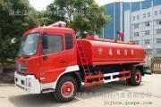 新款国五东风天锦10吨消防洒水车