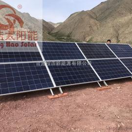 甘肃景泰2000w太阳能发电系统