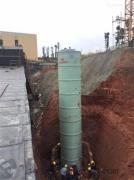 福建厦门3.8×11.6米一体化污水提升泵站