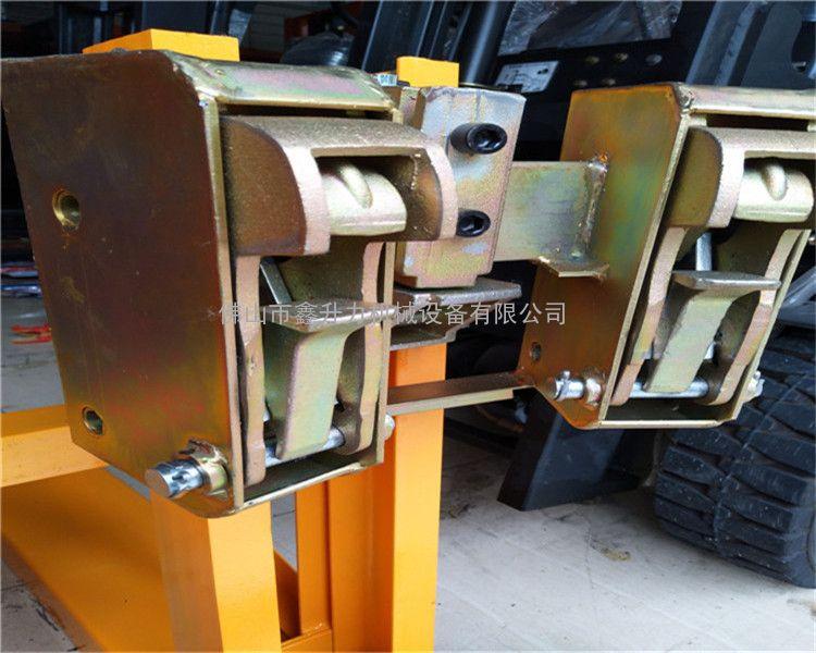 油桶夹 直销工厂重型双油桶夹具油桶夹具叉车桶夹抓桶器
