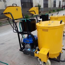 沥青灌缝机配个煤气罐就能用 手推式操作简单的小型路面灌缝机