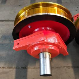 山东500车轮组价格厚度130单边行车轮子天车轮钢包车车轮