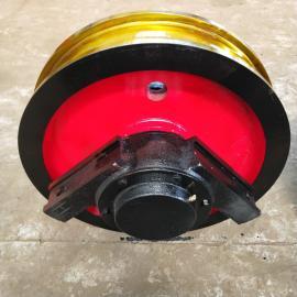 500x130车轮铸钢42CrMo材质车轮组钢包机台车车轮