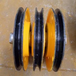 四绳抓斗专用滑轮组出售20T铸钢滑轮组哈瓦洛原厂轴承